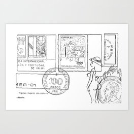 RR&E Art Print
