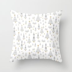 Jolly Forest Throw Pillow