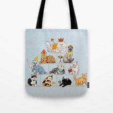 Cats Pyramid Tote Bag