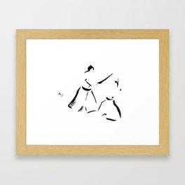 Aikido Series - 1 Framed Art Print