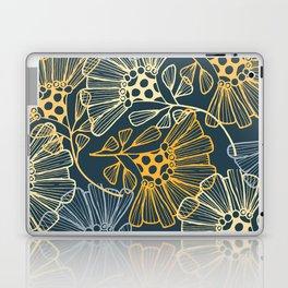 Hawaiian Garden Party - Tropical Flowers Laptop & iPad Skin