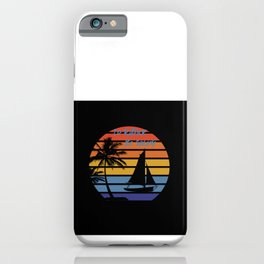 I'd rather be fishing iPhone Case