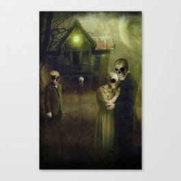 When the dead come home Canvas Print