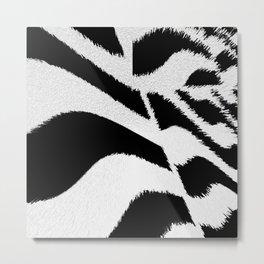 fake fur Metal Print