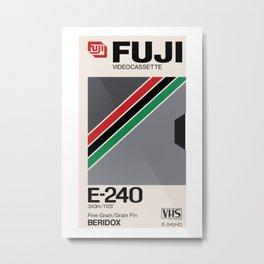 FUJI VHS Metal Print