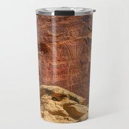 Three Kings Petroglyph - Mcconkie Ranch - Utah Travel Mug