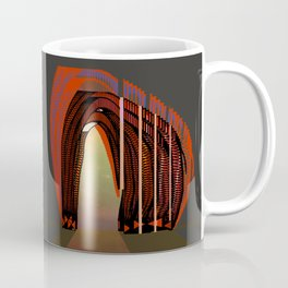 Entrance To The Unknown / Elephant 2 Coffee Mug