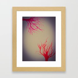 Autumn Colors Framed Art Print