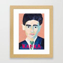 Franz Kafka Framed Art Print
