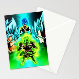 Dragon Ball Supero Movie Broly Stationery Cards