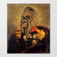 Portrait of Master Chewie Canvas Print