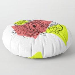 Mini Monster Maxi Monster Floor Pillow