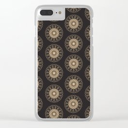 Vintage pattern 4 Clear iPhone Case