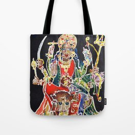Goddess Durga Tote Bag
