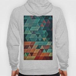 0006 // Teal/Orange Triangles Hoody