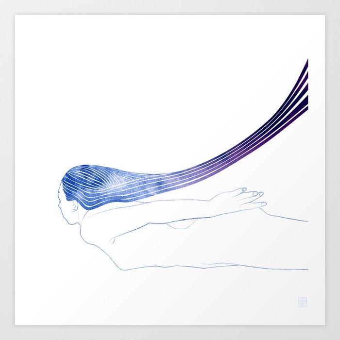 Water Nymph XLVI Art Print