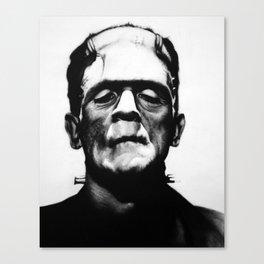 B. Karloff Canvas Print
