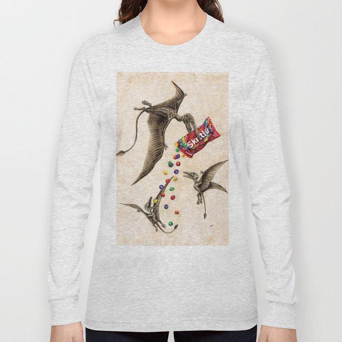 Jurassic skittles Long Sleeve T-shirt