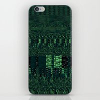 glitch iPhone & iPod Skins featuring Glitch by Pudding