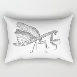 Mantis, One Liner. Rectangular Pillow
