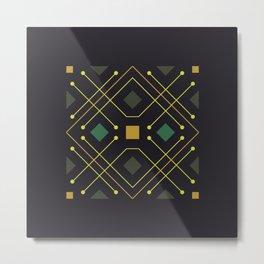 The Goldfinch - Pattern 3 Metal Print