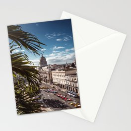 view of havana in cuba Stationery Cards