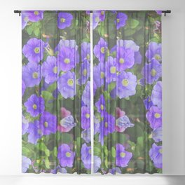 Flower power Sheer Curtain