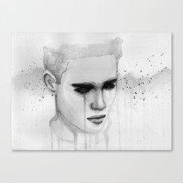 hurt lover Canvas Print