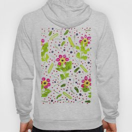 Fruits and vegetables pattern (15) Hoody