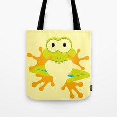 Minimal Tree Frog Tote Bag