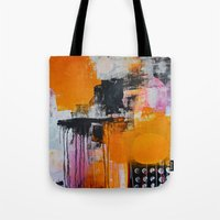 tokyo Tote Bags featuring tokyo by Cathrin Gressieker