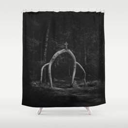 Pagan Poetry Shower Curtain