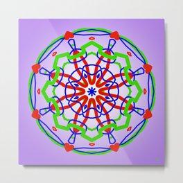 Symmetric composition 30 Metal Print