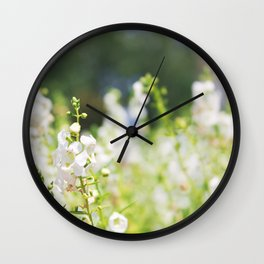 Flower Photography by Allie Pollock Wall Clock