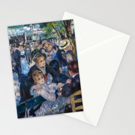 Renoir - Le Moulin de la Galette Stationery Cards
