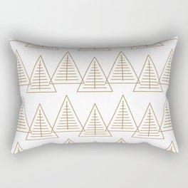 Winter Hoidays Pattern #7 Rectangular Pillow