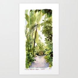 Brooklyn Botanical Garden - Tropics Art Print