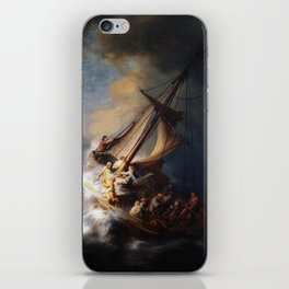 The Storm on the Sea of Galilee, Rembrandt iPhone Skin