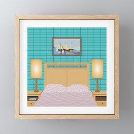 Schitt's Creek family Rose bedroom Framed Mini Art Print