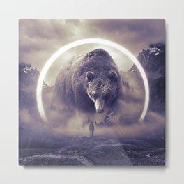 aegis II | bear Metal Print