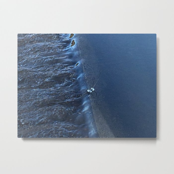 Spilling Water Metal Print