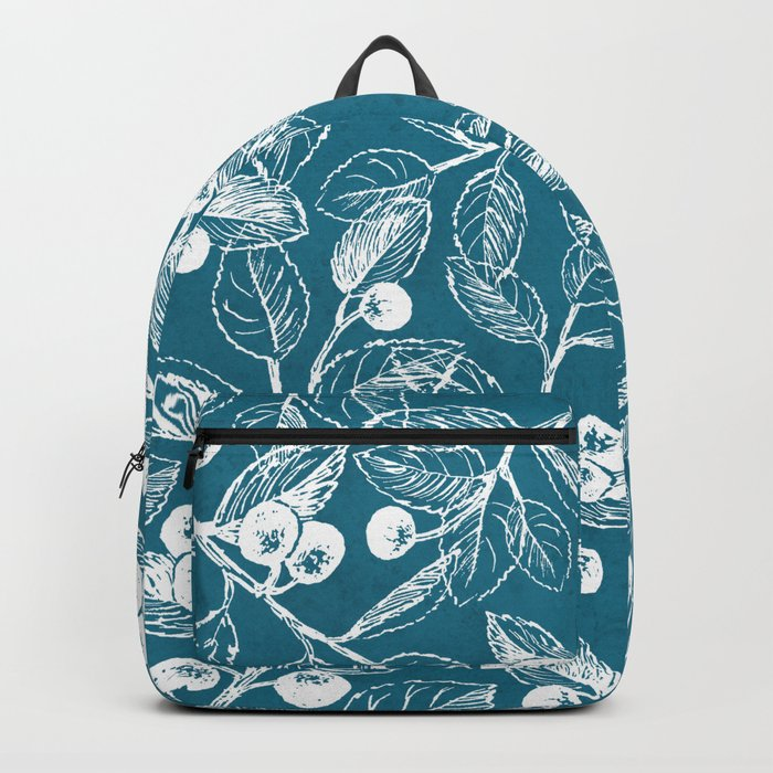Blue garden Backpack