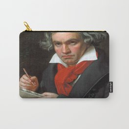 Joseph Karl Stieler - Portrait of Beethoven Carry-All Pouch