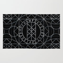 Web of Wyrd  -The Matrix of Fate Rug