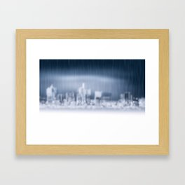 City in Win Framed Art Print