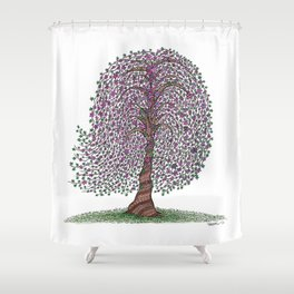 A tree of legend Shower Curtain