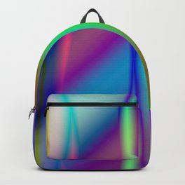It is a colorful beautiful gradation. A gradation that is intricately intertwined. Backpack