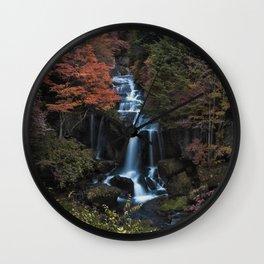 Ryuzu Falls Wall Clock