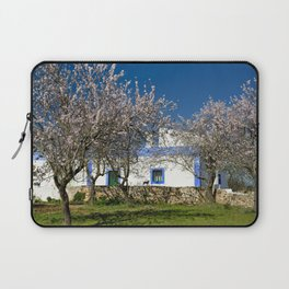 An almond tree cottage Laptop Sleeve