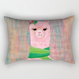 Miss Alpaca 1 Rectangular Pillow